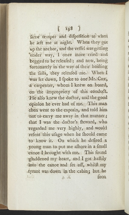 The Interesting Narrative Of The Life Of O. Equiano, Or G. Vassa, Vol 2 -Page 198